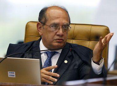 'Tribunal não é instrumento para solução de crise política', critica Gilmar Mendes