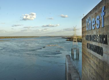 Vazão da barragem de Sobradinho reduz para 600 m³ por segundo, a menor desde 1979