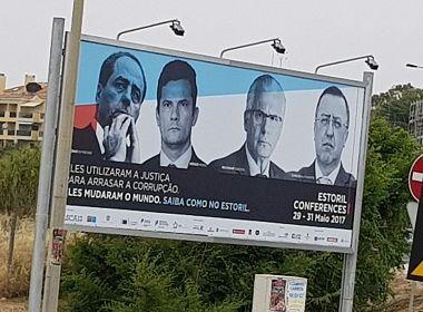 Conferência em Portugal destaca Moro por uso da Justiça 'para arrasar a corrupção'