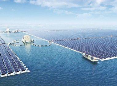 China inaugura usina solar flutuante com capacidade de abastecer 15 mil residências
