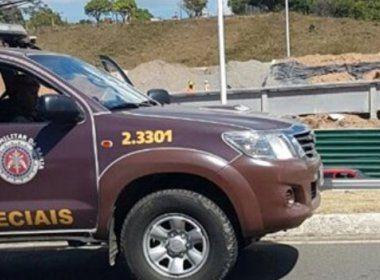 PM da Rondesp é baleado durante troca de tiros em São Marcos; suspeito é morto