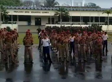 Após alunos terem sido obrigados a ficar na chuva, MP ouve pais e alunos de Colégio Militar