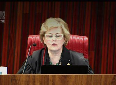 Rosa Weber vota a favor de cassação de Dilma-Temer e empata julgamento