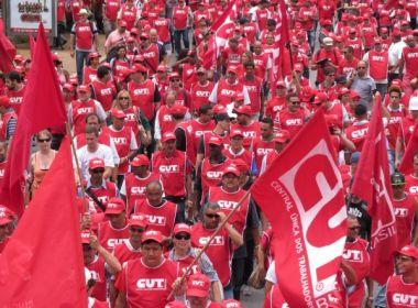 Sindicalistas elaboram plano por eleições diretas; documento reúne 77 reivindicações