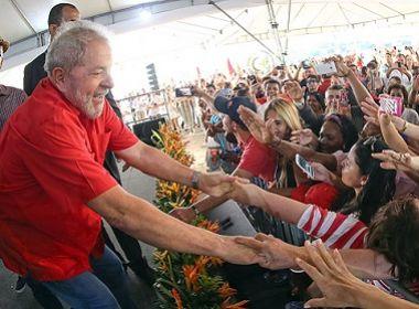 Lula é preferido na opinião dos baianos à presidência em 2018, aponta Paraná Pesquisas