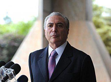 Temer teria dado aval a Cunha para receber R$ 10 milhões em propina de empresário