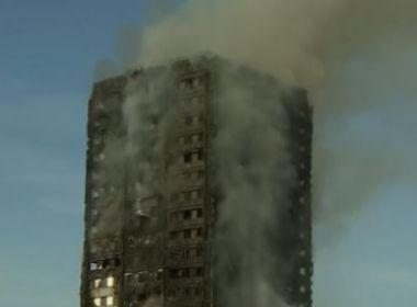 Incêndio em edifício de Londres deixa pelo menos seis mortos e 50 feridos