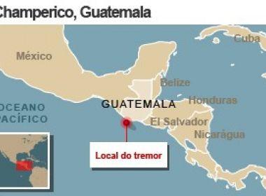 Terremoto de 6,9 graus atinge região próxima à fronteira entre Guatemala e México