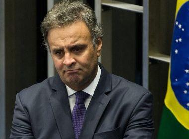 Senado retira nome de Aécio do painel de votação do Plenário