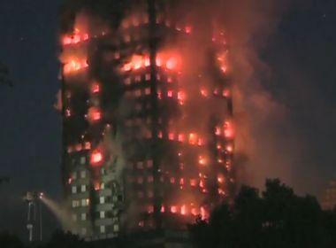 Número de mortos em incêndio de prédio em Londres chega a 12