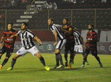 Vitória sai atrás, mas empata em casa com o Botafogo
