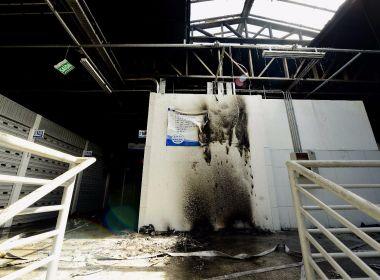 Incêndio no Mercado de Cajazeiras pode ter sido criminoso, afirma prefeito