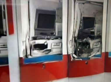 Grupo explode caixas eletrônicos do Bradesco no CAB