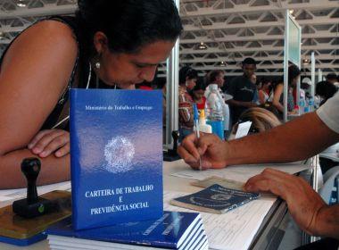 Bahia registra crescimento de 0,18% de postos de trabalho em maio