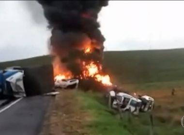 N�mero de mortes em acidente na BR-101, no Esp�rito Santo, sobe para 21