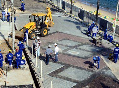 Citada em delação da Odebrecht, revitalização da Barra custou R$ 4,4 mi acima do previsto