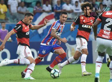 Bahia perde para o Flamengo e chega ao quinto jogo sem vencer no Brasileirão