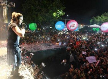 Com repertório de sucessos, Luan Santana encerra São João da Bahia em Paripe