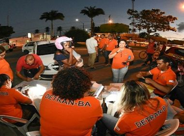 Operação São João: Detran e polícia abordam mais de 13 mil pessoas