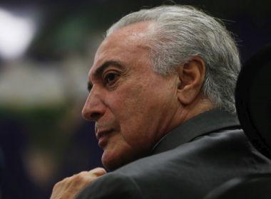 Defesa de Temer planeja série de medidas para desqualificar denúncias de Janot