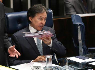 Presidente do Senado afirma que vai manter pauta da Casa apesar de denúncia