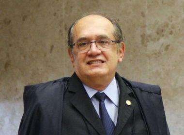 'População tem como única saída democrática confiar no Congresso Nacional', diz Gilmar