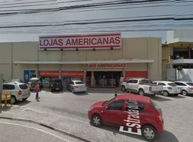 Lauro: Unidade das Lojas Americanas da Estrada do Coco é assaltada