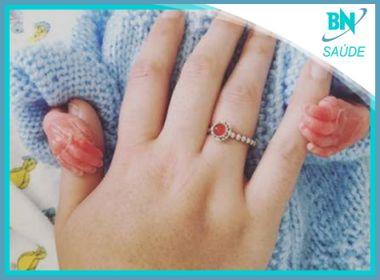 Destaque em Saúde: Mulher comove internautas com fotos dos últimos dias do filho