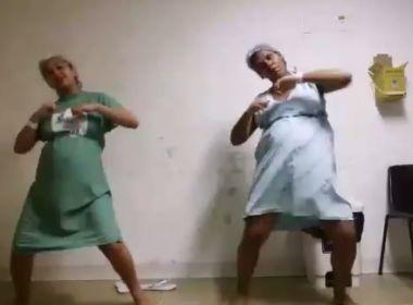 Por recomendação médica, grávidas dançam 'despacito' em maternidade de Pau Miúdo