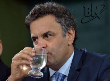 'Brasileiros não suportam mais ver tanta corrupção', bradou Aécio em 2014