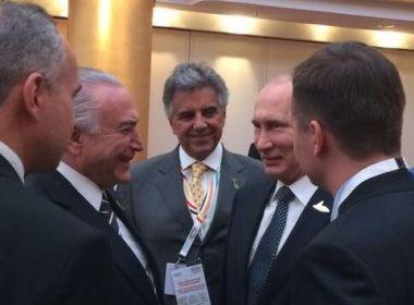 Temer diz que 'não existe' crise no Brasil ao chegar na Alemanha para cúpula do G20