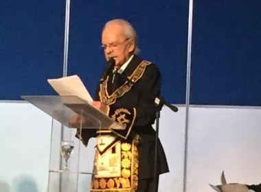 Maçonaria abre congresso no Rio com discurso do pai do deputado federal Sergio Zveiter