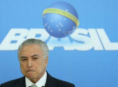 Após pressão de governo, partidos ameaçam punir deputados que votarem contra Temer