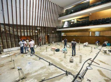 Em obras, novo plenário da AL-BA será inaugurado em agosto