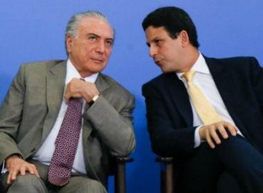 Líderes do centrão voltam a pressionar Temer para desalojar PSDB do governo