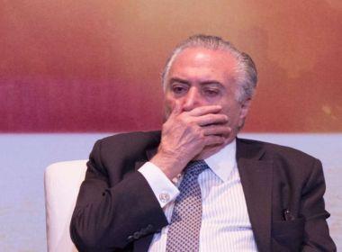 'Temer era destinatário de mala com R$ 500 mil', reitera Janot em resposta ao Psol