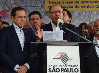 Alckmin e Doria defendem desembarque do PSDB do governo após aprovação das reformas