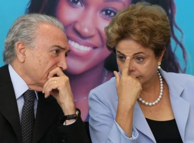Dilma e Temer empatam em levantamento sobre quem foi pior para o Brasil
