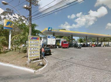 Posto de combustíveis tem cofre explodido em Pirajá