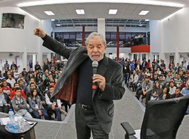 Lula inaugura agenda de pré-candidato com caravana pelo Nordeste
