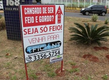 Academia é autuada por propaganda gordofóbica no Mato Grosso do Sul