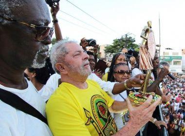Caravana Lula: PT conquista votos da maioria dos baianos desde o 1º turno de 2002