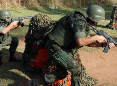 Exército tem munição para uma hora de guerra, afirma militar