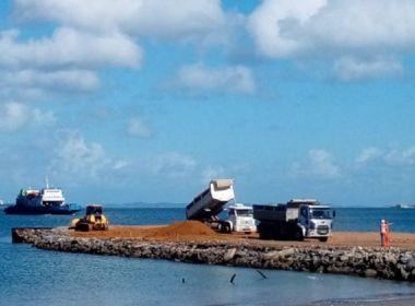 TCU ordena suspensão de pagamento de contrato de obra no porto de Salvador