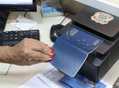 PF confirma verba e diz que vai priorizar 175 mil pedidos de passaporte repassados