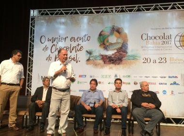 Governo lança 'Estrada do Chocolate'; roteiro turístico abrange Ilhéus e Uruçuca