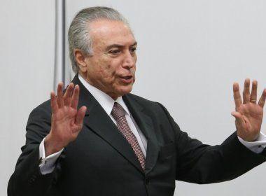 Michel Temer é reprovado por 94% dos brasileiros, aponta pesquisa