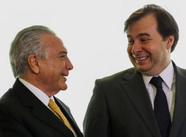 Para Rodrigo Maia, denúncia contra Temer será rejeitada com folga na Câmara