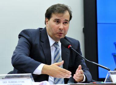 'DEM não tem condições de apoiar o PSDB para presidente', afirma Maia
