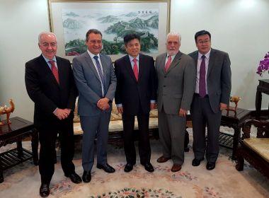 Rui se reúne com chineses em Brasília para discutir investimentos na Bahia